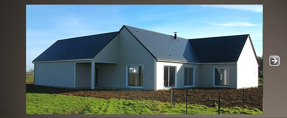 Maisons bois bac orl ans loiret for Constructeur maison individuelle loiret